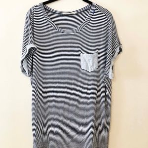 Wanderlux Striped Short Sleeve Shirt
